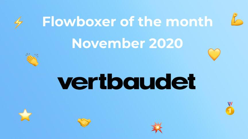 Flowboxer of the month – November 2020: Vertbaudet Germany