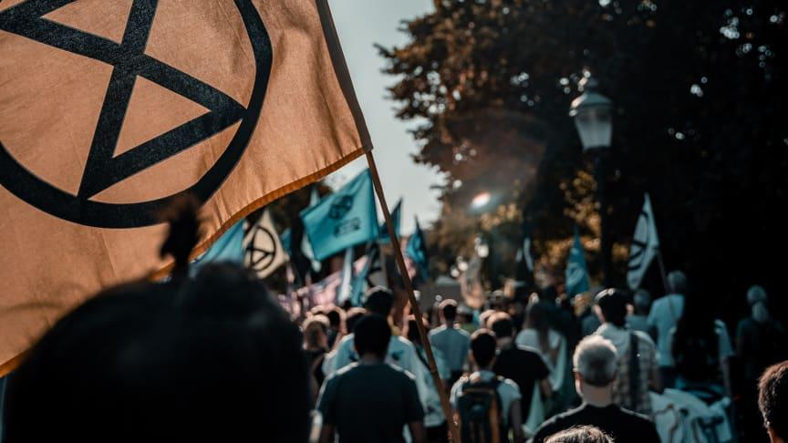 2020 års prismottagare av Martin Luther King-priset är den globala klimatrörelsen Extinction Rebellion.