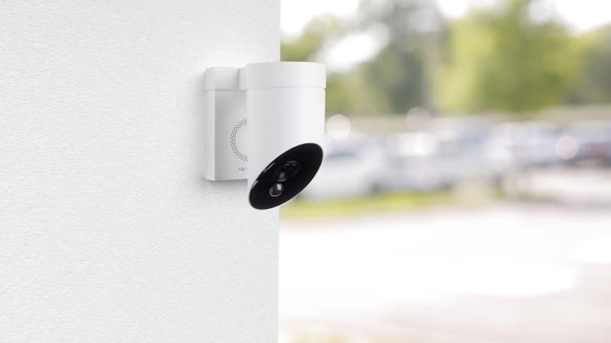 Stöd för Apple HomeKit till Somfy Outdoor Camera har nu släppts via en uppdatering i appen Somfy Protect.