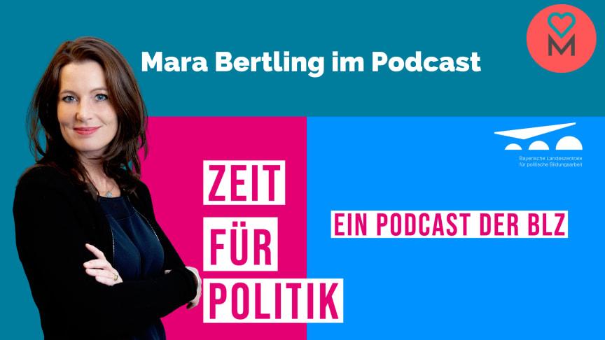 Mara Bertling, Gründerin und Geschäftsführerin von DEIN MÜNCHEN spricht über ihre Arbeit im Podcast der Bayerischen Landeszentrale für politische Bildungsarbeit
