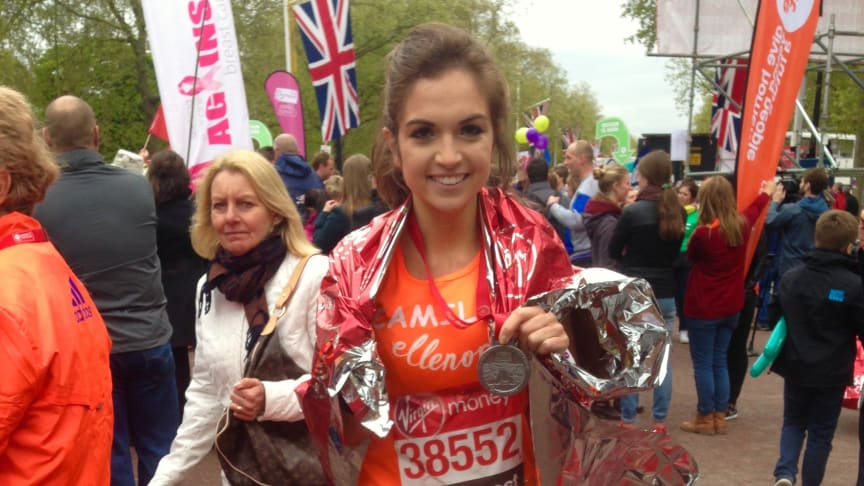 Proud moments for team ellenor marathon heroes