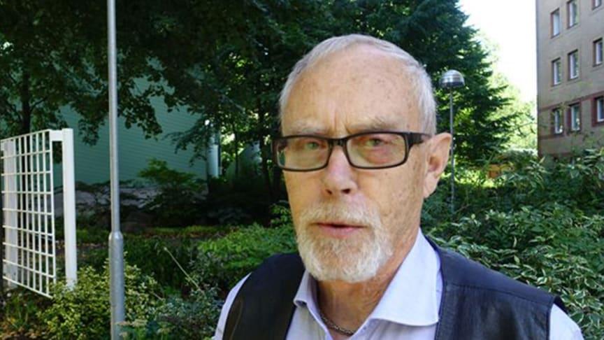 Calle Waller, vårdpolitisk talesperson Prostatacancerförbundet. Fotograf: Helene Rödbro.