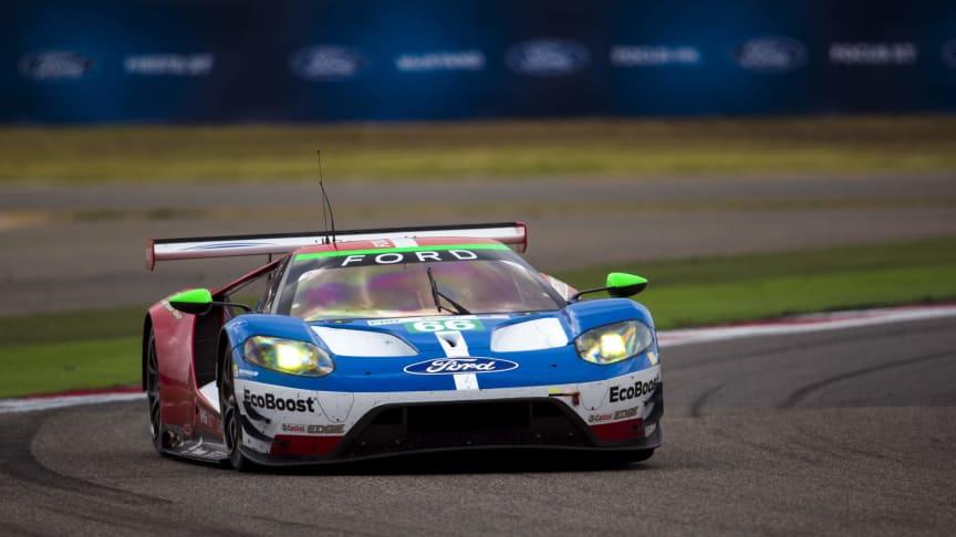 Fords racingteam Ford Chip Ganassi Racing är på jakt efter ett hattrick i Shanghai.