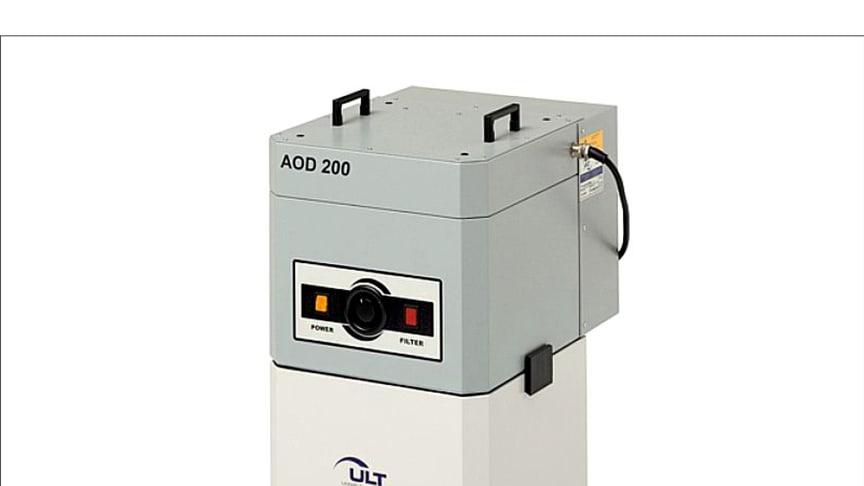 AOD filteraggregat för skärvätskor