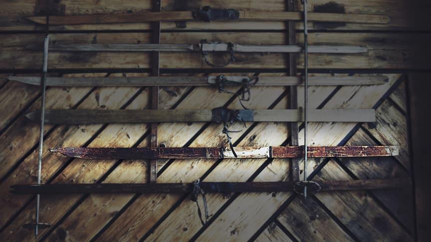 Gustav Vasas skida finns nu att beskåda i restaurang Bistron i Stöten.