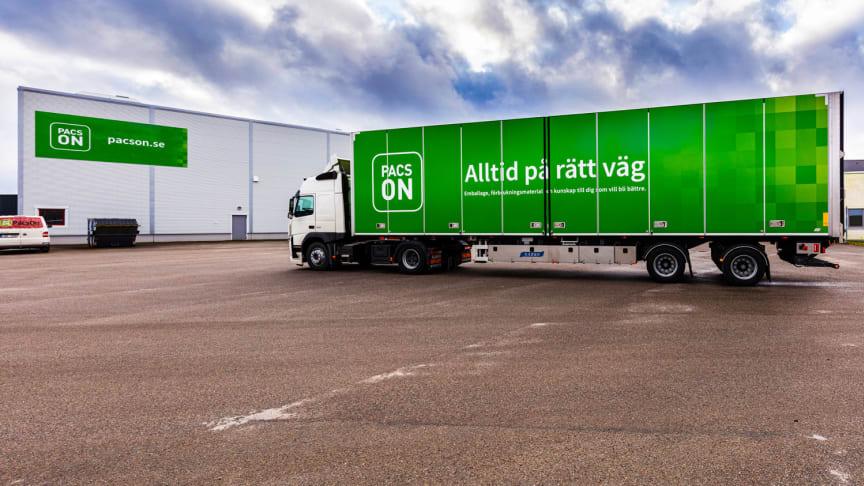 PacsOn startar egna miljövänliga transporter i Jönköpings län