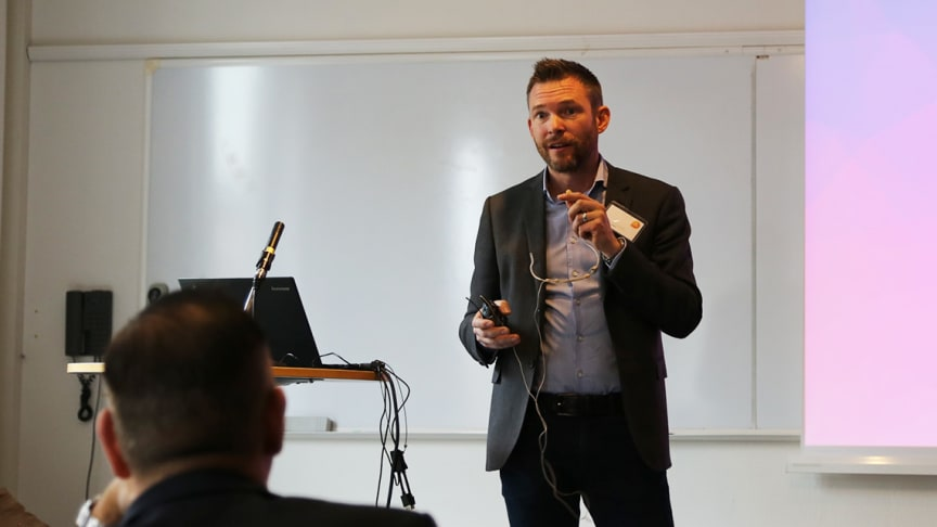 - Det är oerhört spännande att vi på MDH utvecklar framtidens nya teknologier, säger Thomas Nolte.