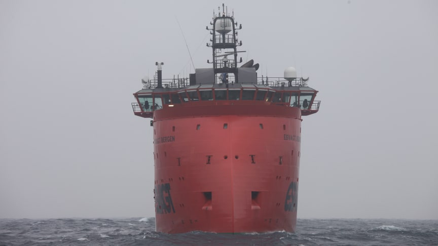 The 'Esvagt Bergen' and her sister vessel the 'Esvagt Stavanger' are ready for three additional years on contract.