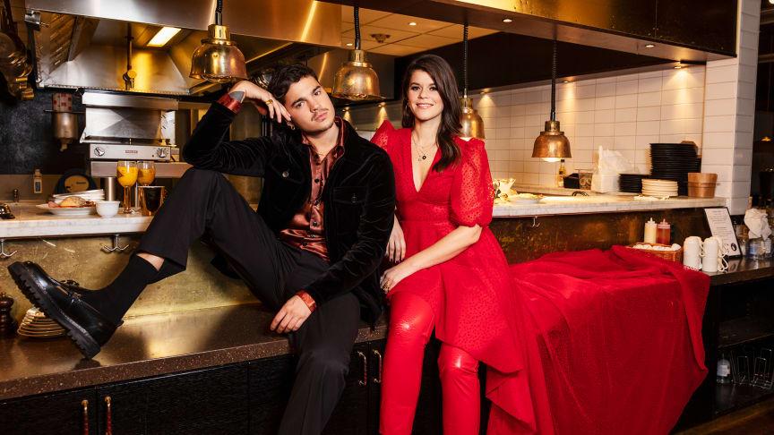Oscar Zia och Emma Molin sänder P3 Guld från Elite Hotel Marina Tower