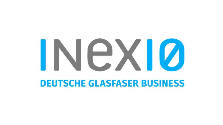 Das neue Logo: inexio / Deutsche Glasfaser Business ist der Glasfaserspezialist für Geschäftskunden und Kommunalverwaltungen.