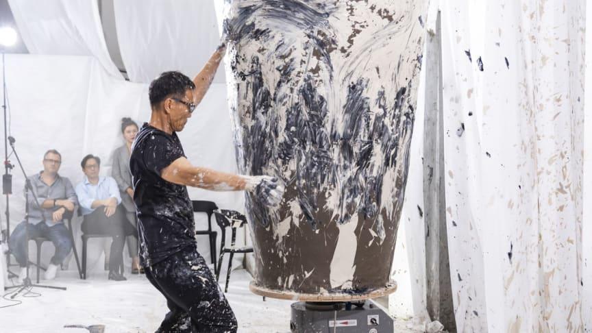 Från skapelse till förstörelse – exklusivt koreanskt performanceverk i Stockholm