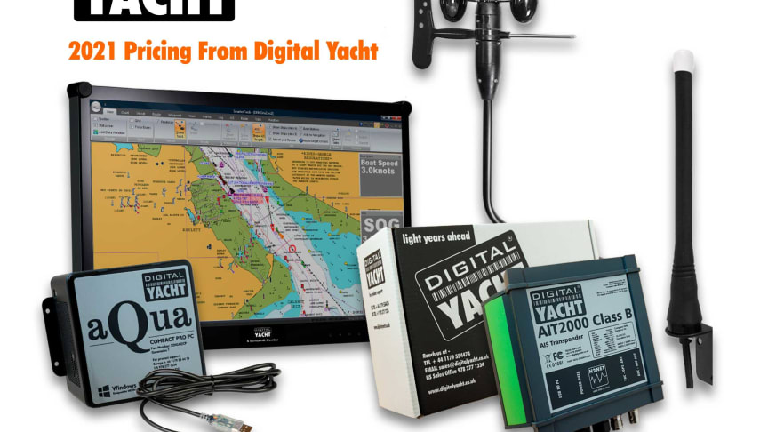 Digital Yacht 2021 Euro Pricelist Now Available