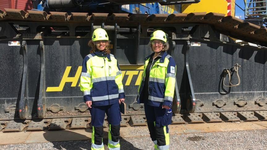 ngela Ekebro och Susan Björkqvist, projektdirektör och HSM-chef för Heliosprojektet