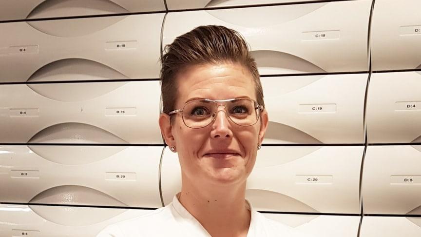 Matilda Persson, Apotek Hjärtat, ICA Maxi, Hässleholm, vinnare av årets Bästa kundinsats på apotek