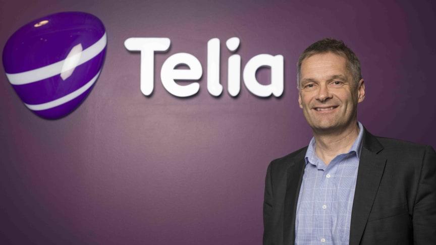 Sikret seg attraktive frekvenser: Abraham Foss, administrerende direktør i Telia Norge, sier dette er et viktig steg på vei mot 5G.