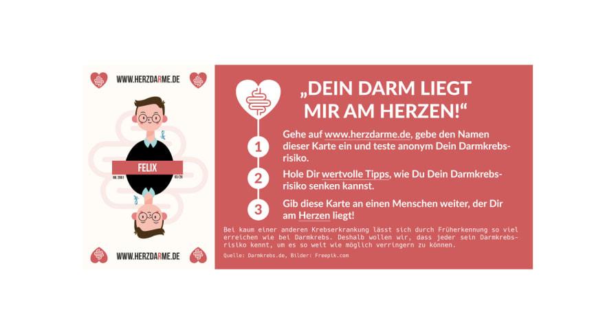 Herzdarme: Spielkarte FELIX