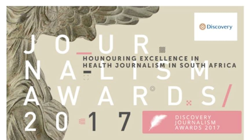 The Discovery Health Journalism Awards is changing direction in 2017