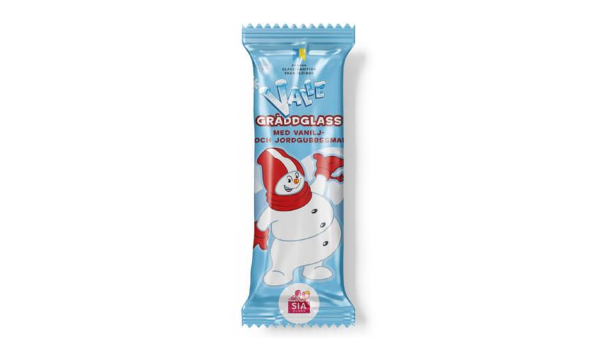 SIA Glass och SkiStar i samarbete: Barnens favoritsnögubbe Valle blir glass