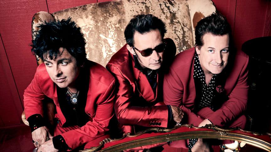 Green Day spiller torsdag den 4. juni på NorthSide