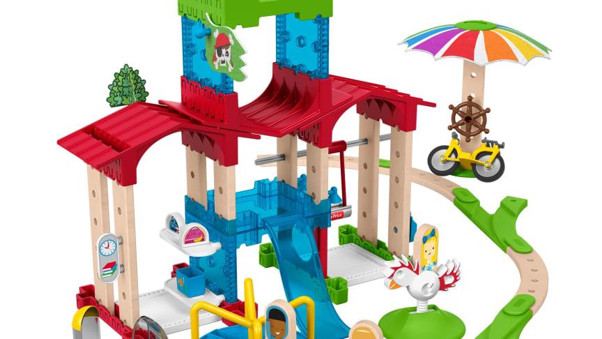 Fisher-Price Wunder Werker Schule mit Spielplatz