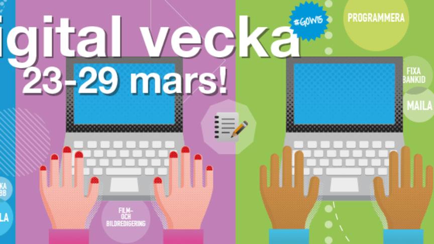 Vallentuna deltar i Digitala veckan (Get Online Week) 2015