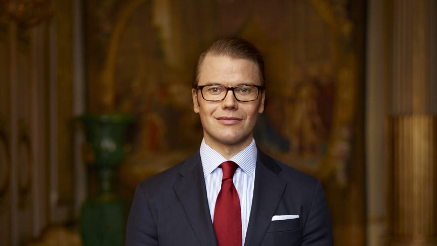 Prins Daniel gästar Carlforsskas Ekonomi- och Handelsskola den 15 januari