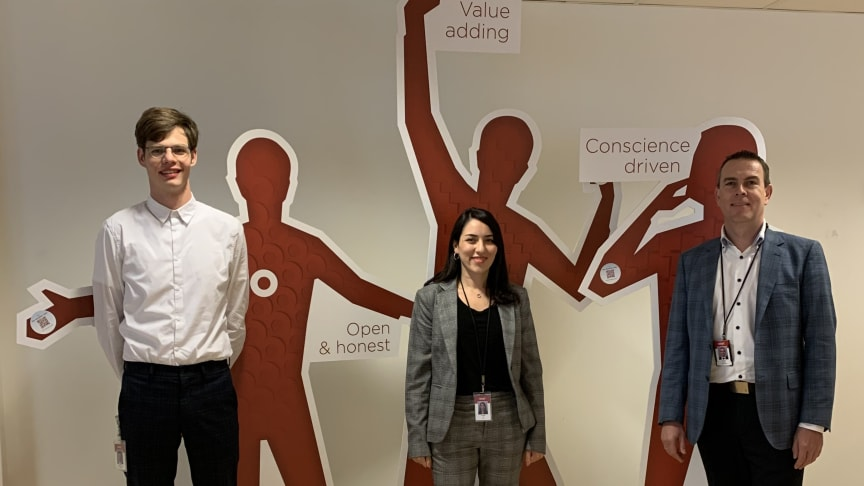 From left to right: Magnus Thorslund Ipsen, Ava Davani, and Michael Zimmerman are all on this year's IT Talent top 10 in the consulting category.