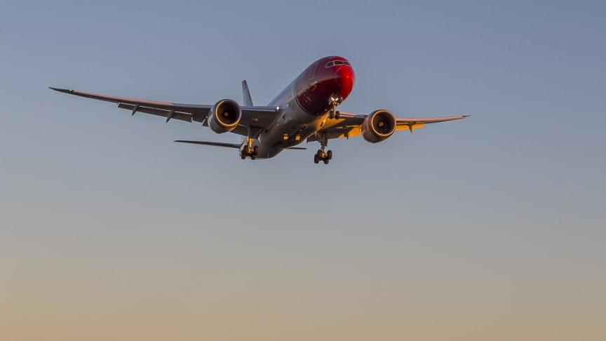 Första direktflyget mellan Stockholm och Las Vegas har lyft