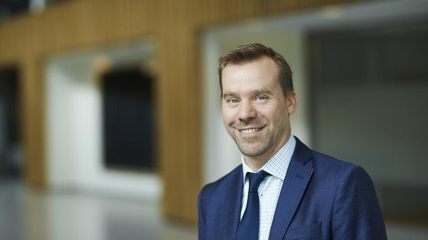 Matthew Smith, Head of sustainable investments. Photo: Bård Gudim
