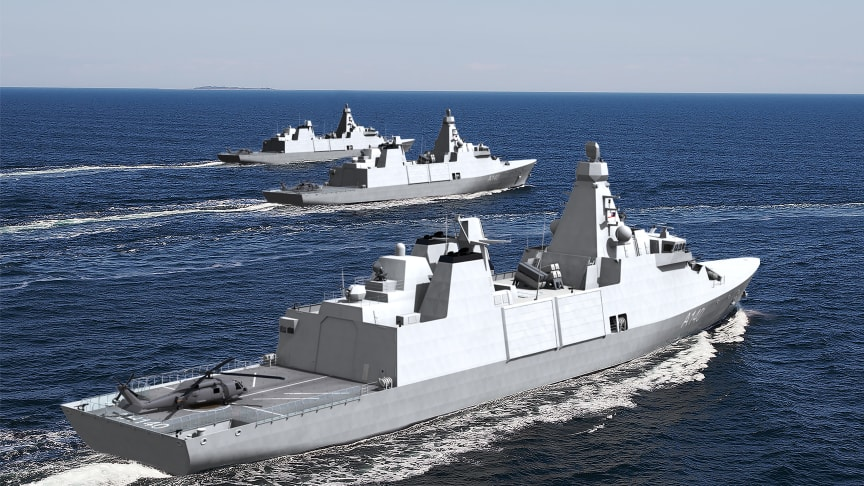 Imenco to deliver CCTV systems to Babcock designed Royal Navy Frigates - at sea