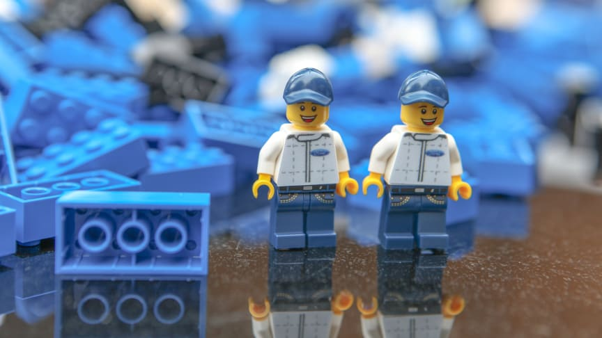 A Ford LEGO szerelőfigurái már várnak!
