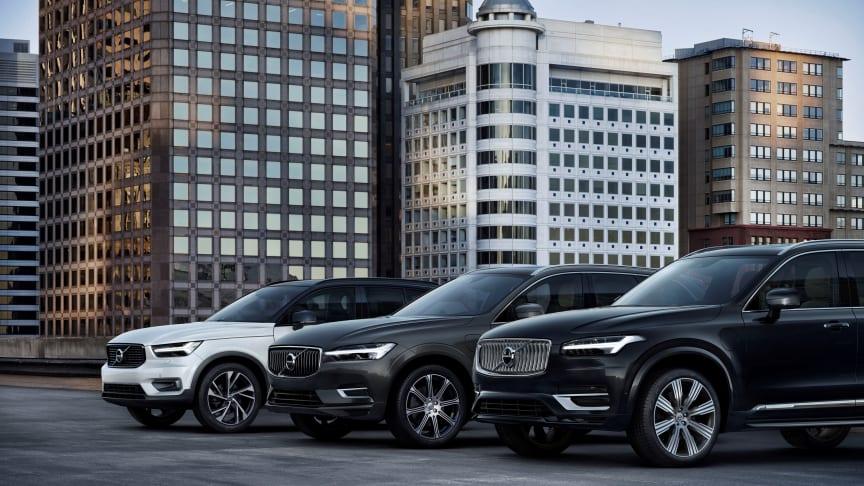 Volvo Recharge SUVs