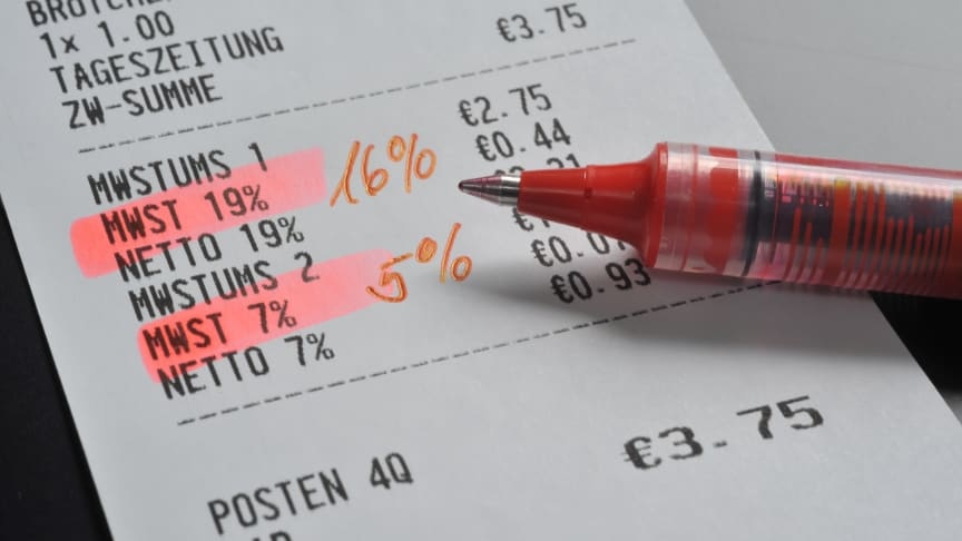 Mehwertsteuersenkung 2020: Was zu beachten ist