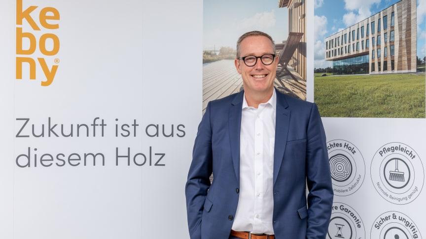 Kebony, Produzent nachhaltiger, modifizierter Hölzer, hat im April 2019 Norman Willemsen zum neuen CEO ernannt.