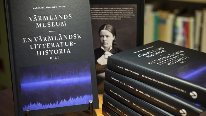 Värmlands Museum årsbok år 2020 – En värmländsk litteraturhistoria del 1, ges ut i samarbete med Karlstads universitet.