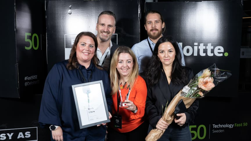 Sweden Technology Fast 50, Readly plats tre