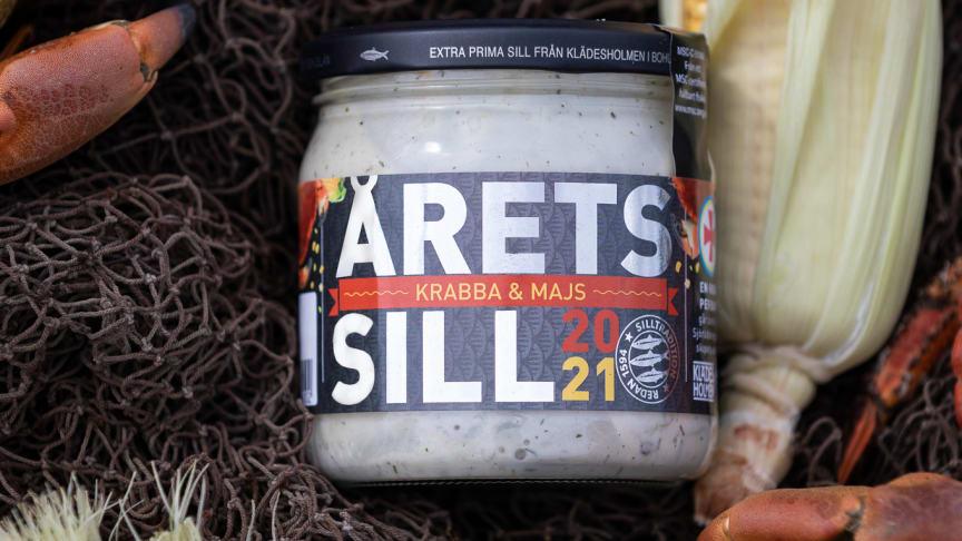 Krabba och Majs sätter smak på Klädesholmens Årets Sill 2021