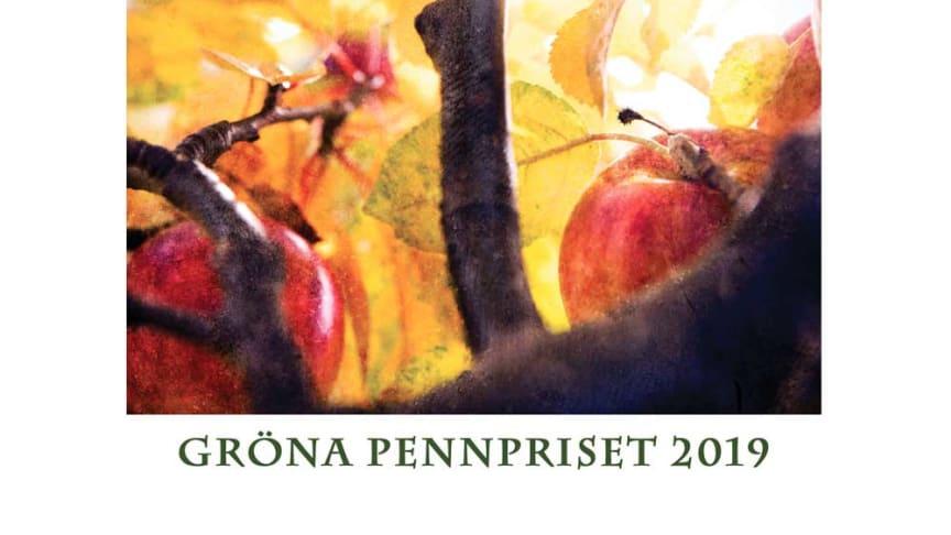 Det diplom som tagits fram åt årets vinnare av Gröna pennpriset som i år delas ut på Nolia Trädgård. Diplomet är skapat av  fotografen Lina Karna Kippel.