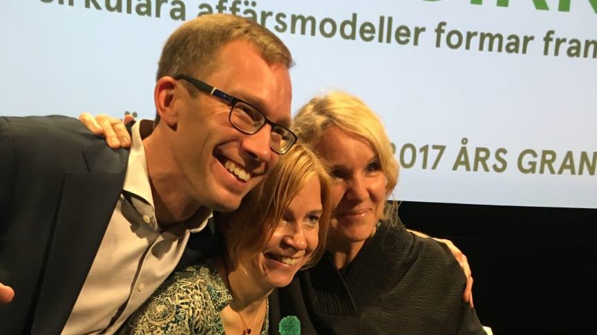 Stefan Krook, Karin Bodin och Eva Karlsson.