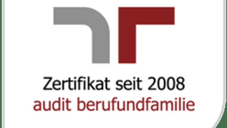 Zertifikat zum audit berufundfamilie für die apoBank