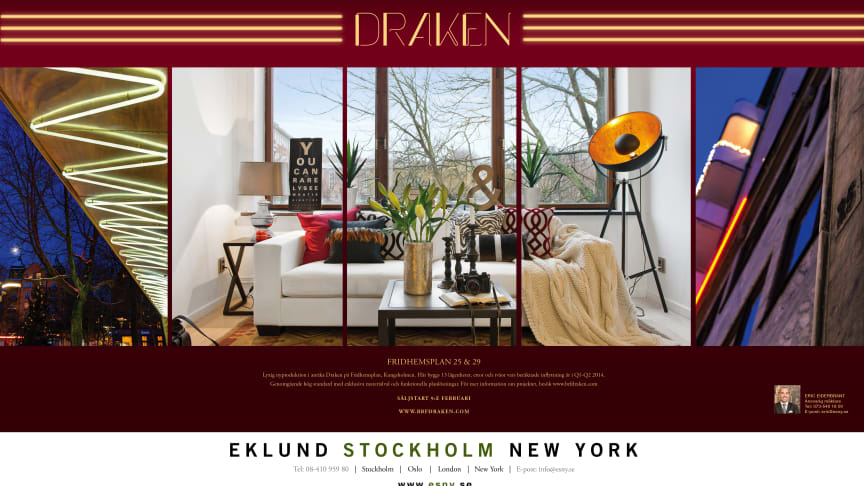 Eklund Stockholm New York lanserar Projekt Draken