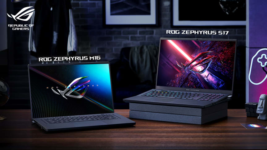 ASUS Republic of Gamers Announces ROG Zephyrus M16, ROG Zephyrus S17 and updated ROG Flow X13