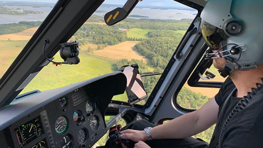 Stor användning av MSB:s flygande förstärkningsresurser
