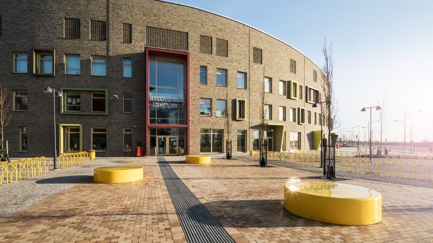 Hyllievångsskolan. Foto: Kenatroo Tryman