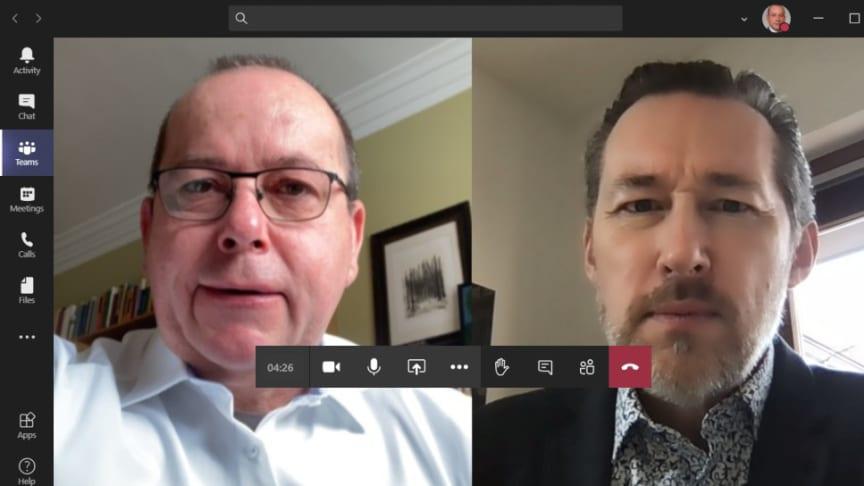 Andreas Liefeith von procilon im Online-Interview mit Andreas Vollmert, International Growth Manager Swisscom Trust Services