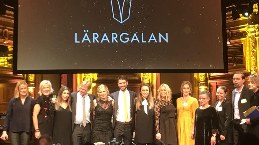 Årets vinnare av Lärargalan 2018
