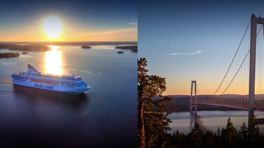 Tallink Silja fortsätter att erbjuda inhemska kryssningar - denna gång till natursköna Höga Kusten