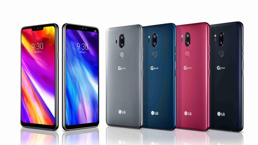 LG lanserer deres nye flaggskipmobil: LG G7 ThinQ.
