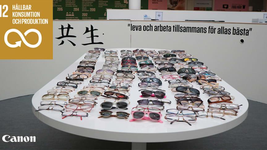 Fotot är taget i Canons showroom på HK i Solna.