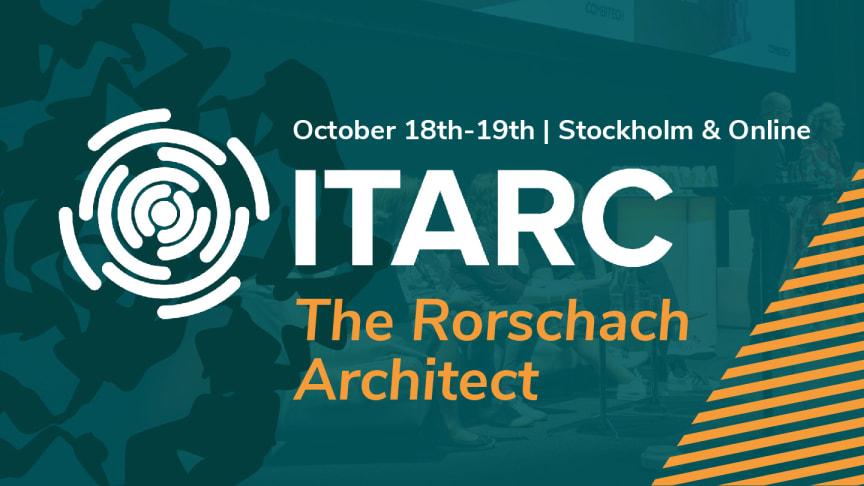 Temat för årets konferens är The Rorschach Architect